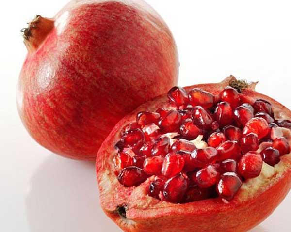 Granatäpplejuice minskar åderförkalkning - bra för hjärtat.