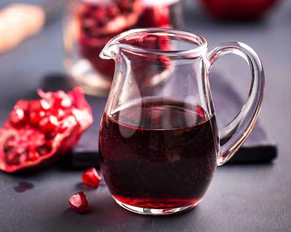 Granatäpplejuice skyddar mot åderförkalkning och hjärtsjukdom.