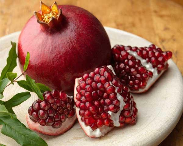 Granatäpple - kan granatäpplejuice skydda mot hjärnskador hos för tidigt födda?