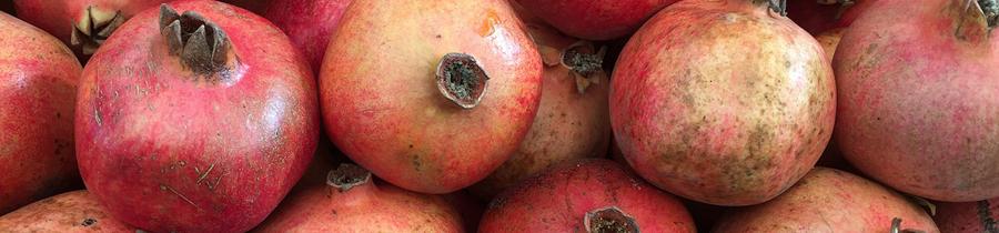 Granatäpplen - innanför skalet finns hälsosamma ämnen.