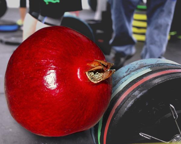 Granatäpple ger bättre återhämtning efter träning